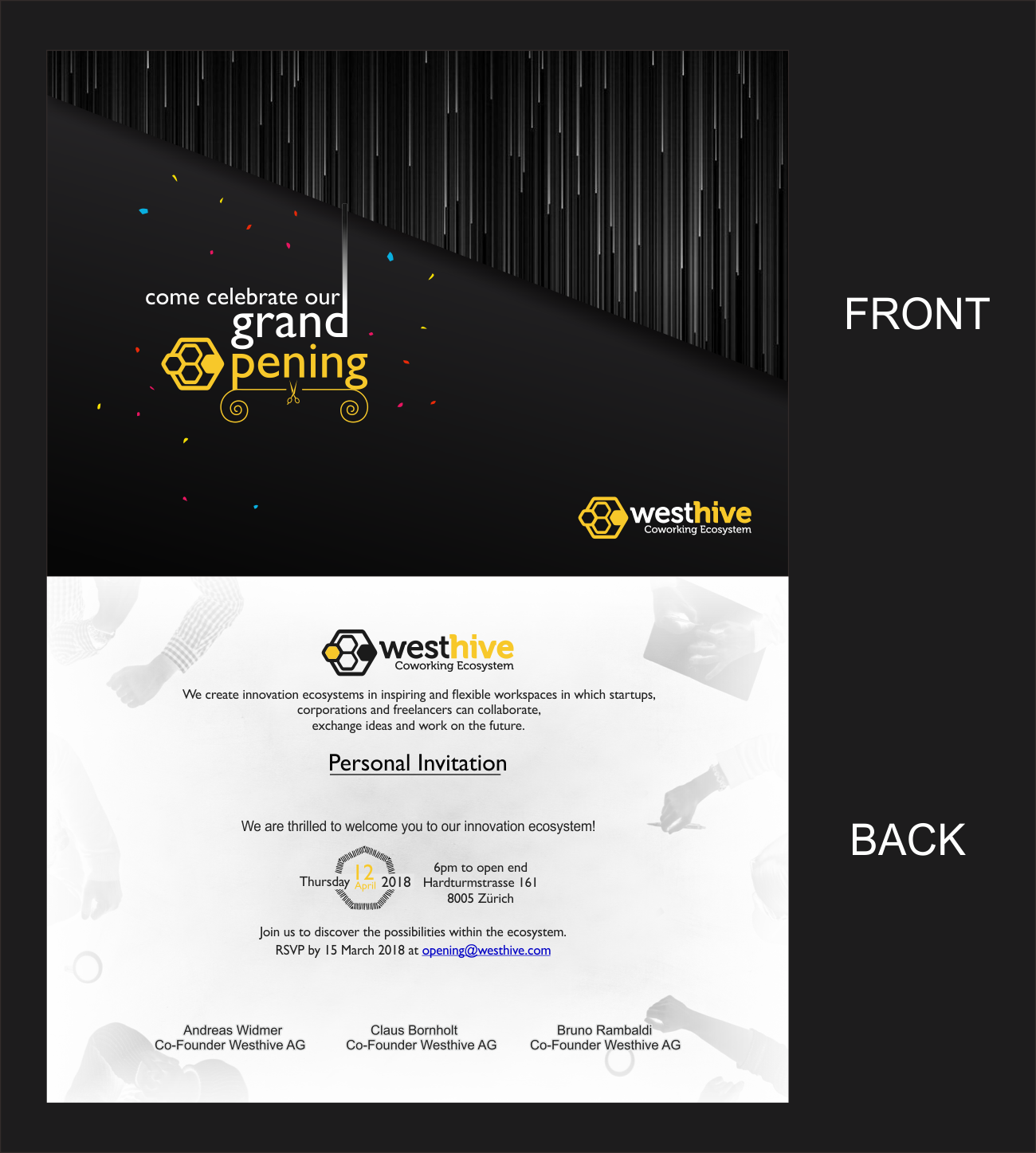 Modern Professional Office Card Design For A Company By