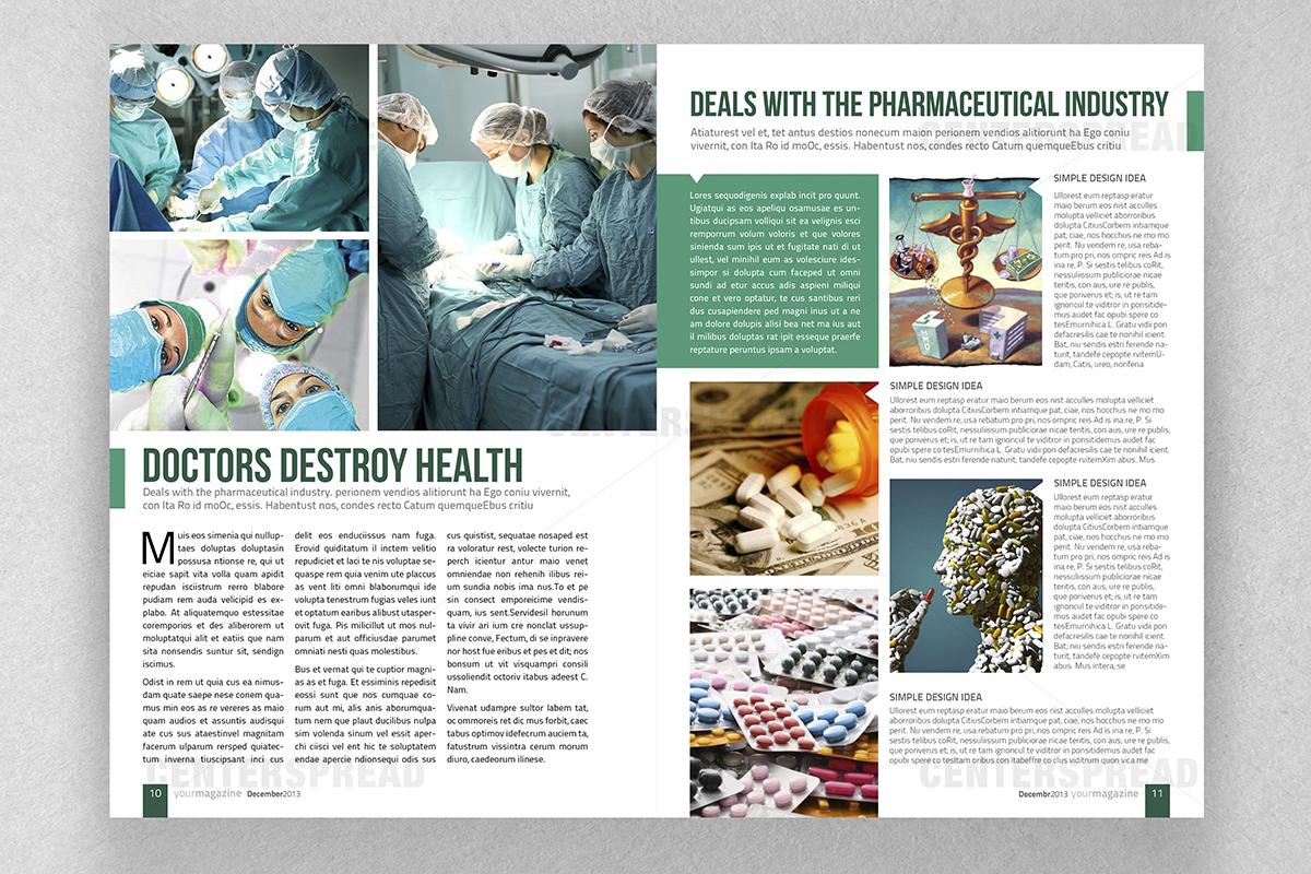 bold modern magazine design for sr design by centerspread