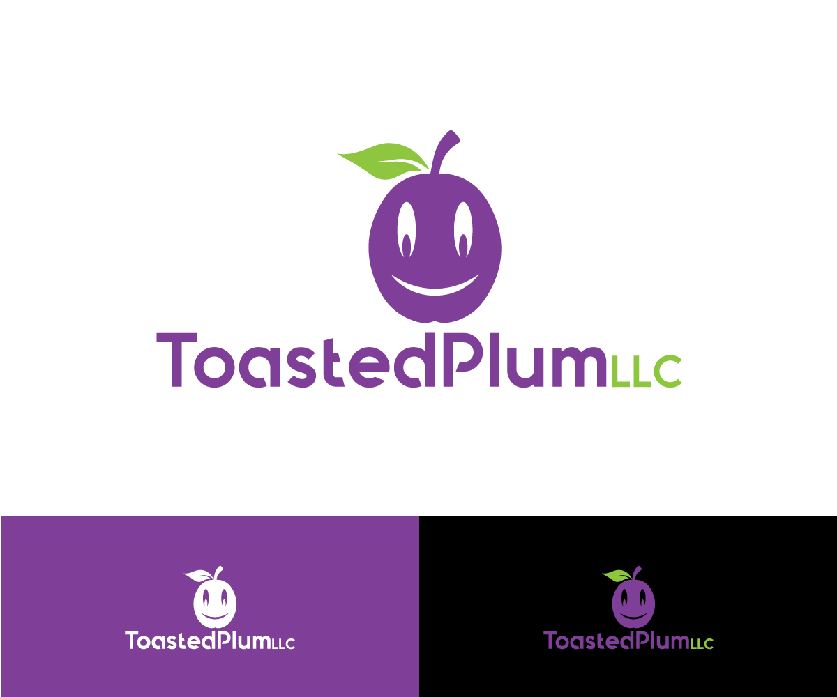 Elegant Playful Business Logo Design For Toasted Plum Llc Not Sure