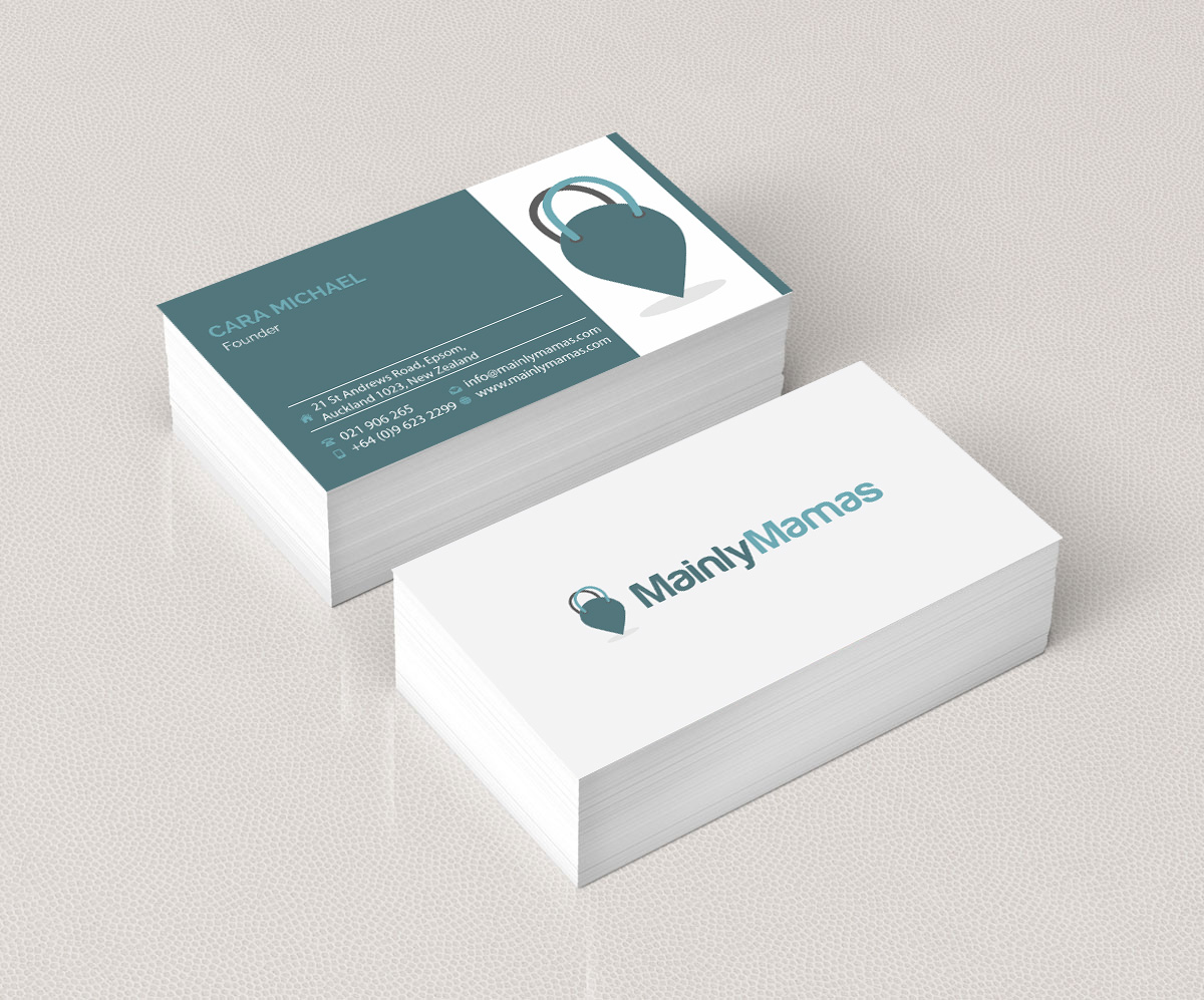 Modern, Feminine, Business Business Card Design for a Company by ...