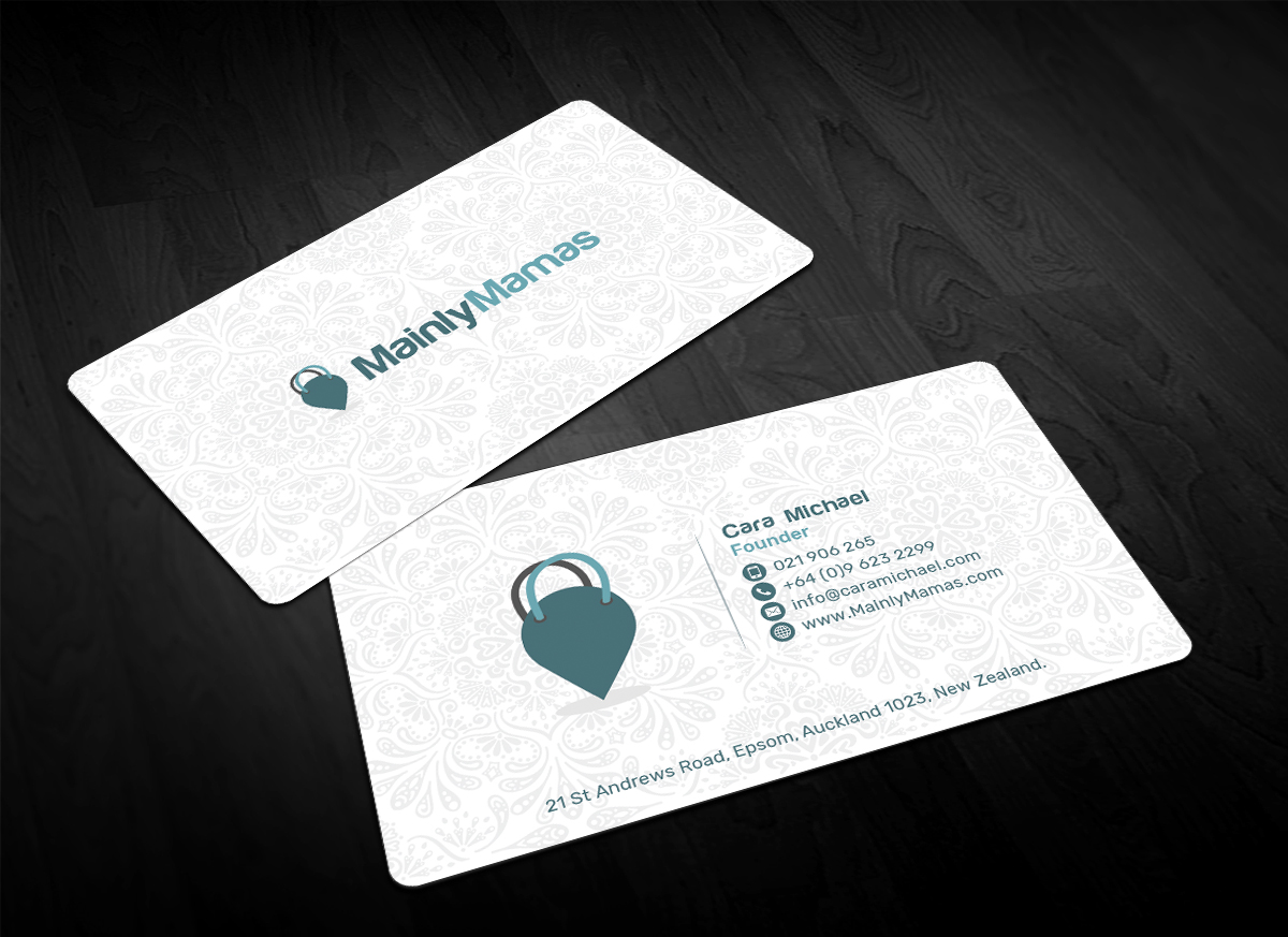 Modern feminine business business card design for a company by business card design by sandaruwan for this project design 17891195 reheart Images