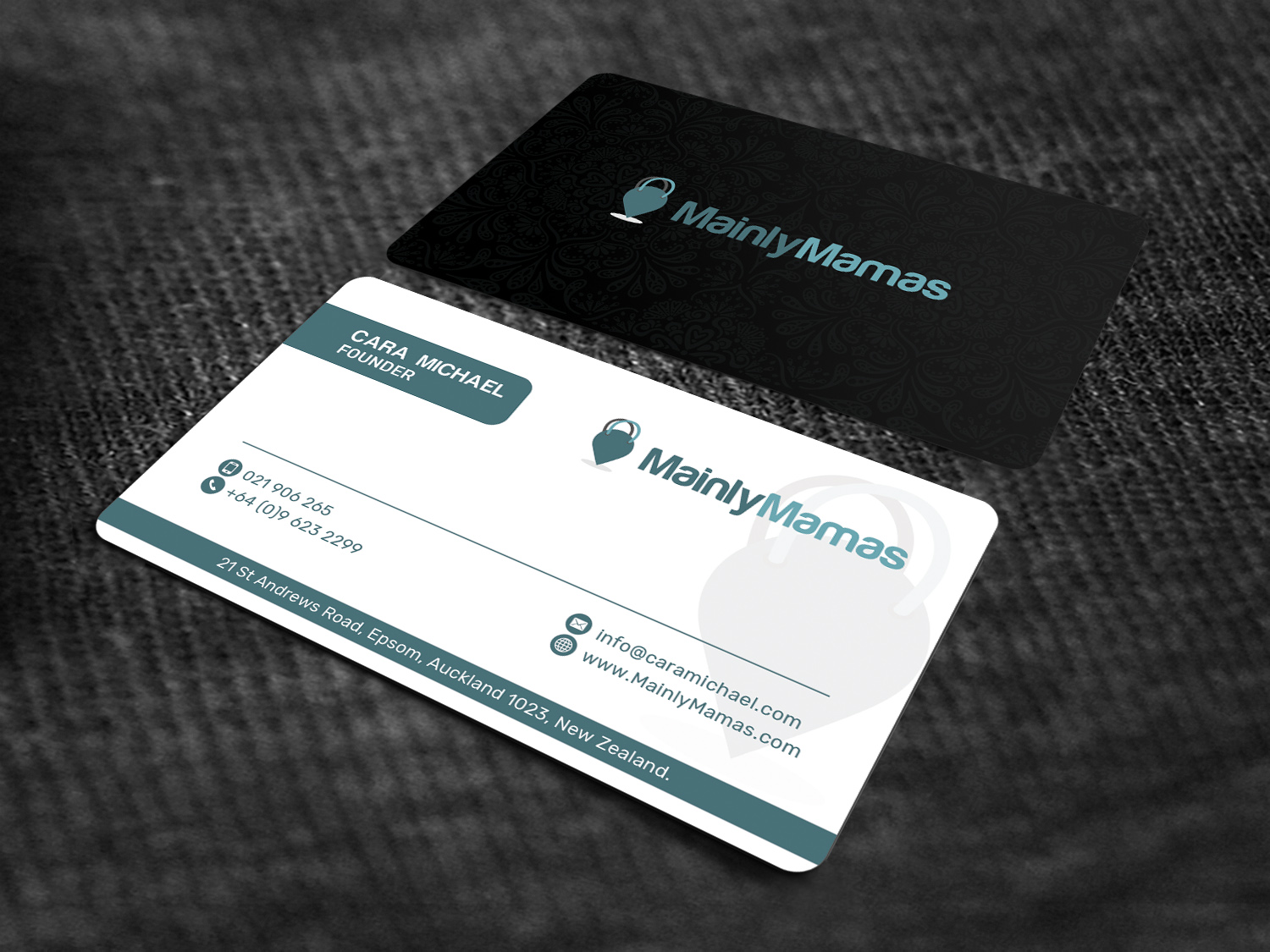 Modern feminine business business card design for a company by business card design by sandaruwan for this project design 17893253 reheart Images
