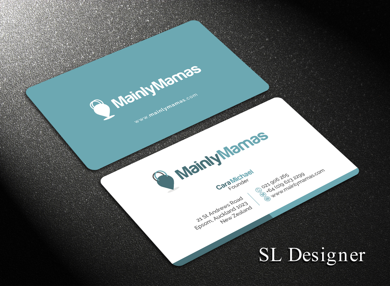 Modern, Feminine, Business Business Card Design for a Company by SL ...