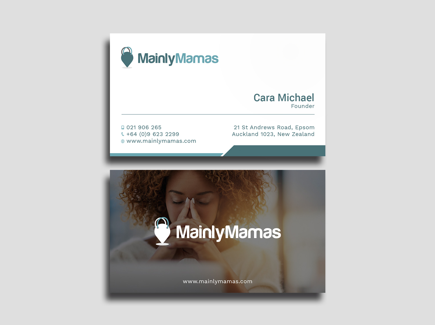 Modern feminine business business card design for a company by business card design by avanger000 for this project design 17887063 reheart Image collections