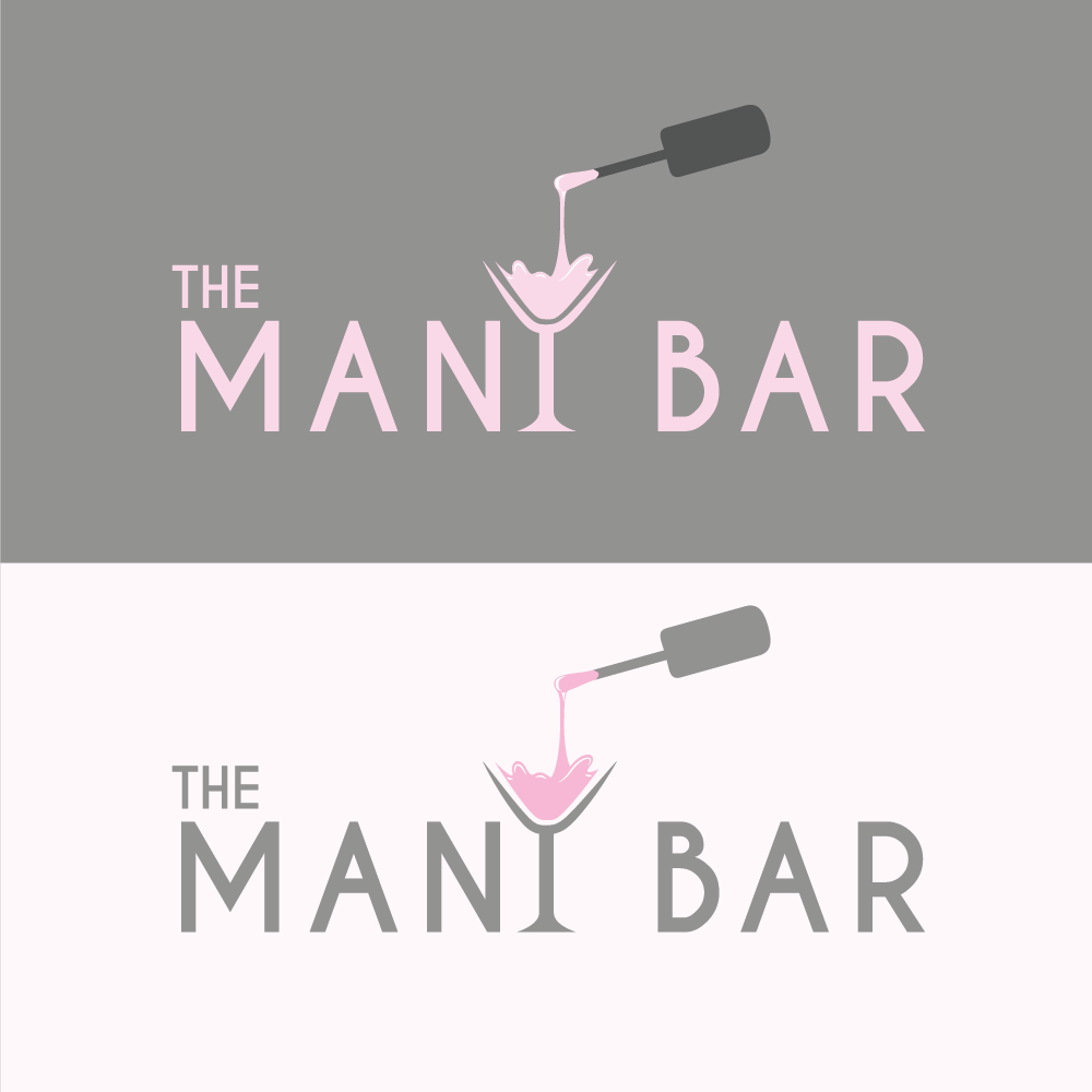 Logo Design By All American Designs For The Mani Bar