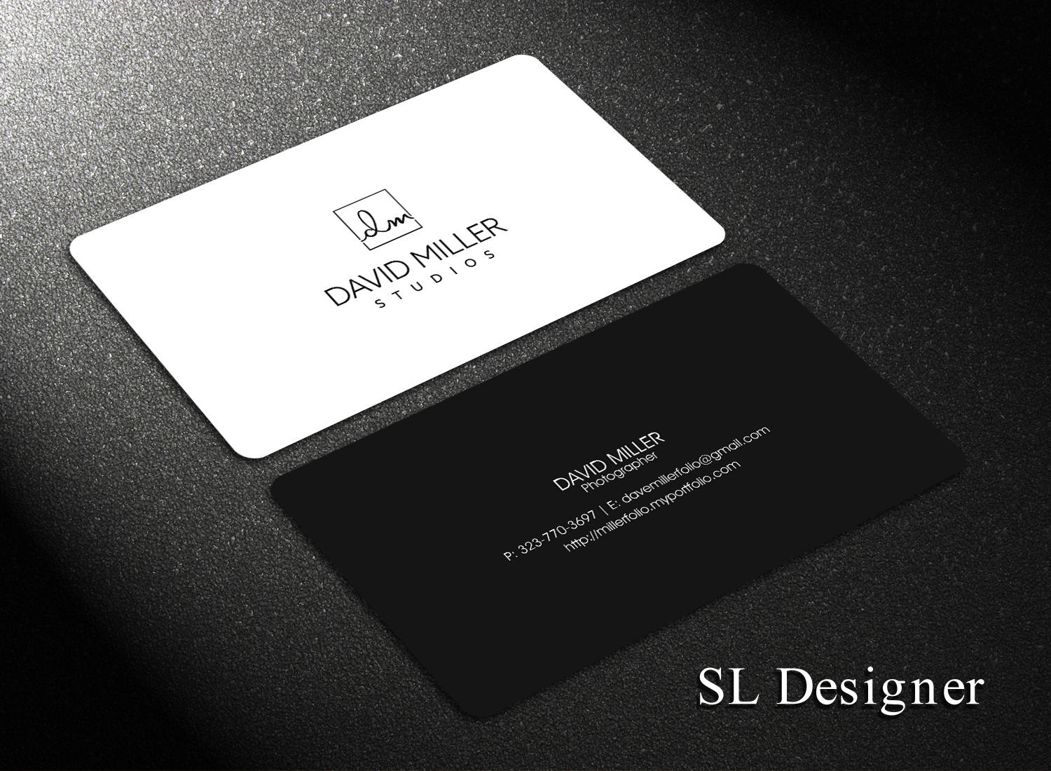 Business Card Design By SL Designer For The Cavernlite Group
