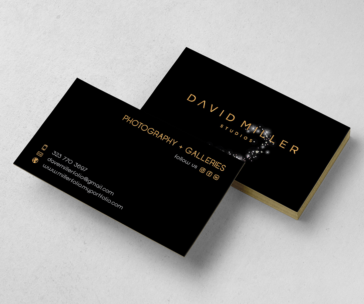 Business Card Design By LeoK For The Cavernlite Group