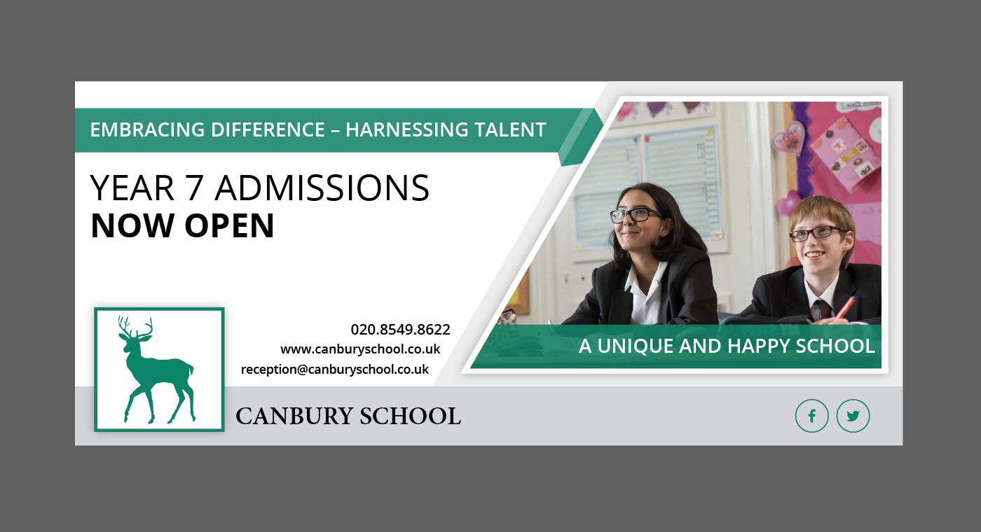 Independent School Recruitment Banner 22 Banner Ad Designs For Canbury School