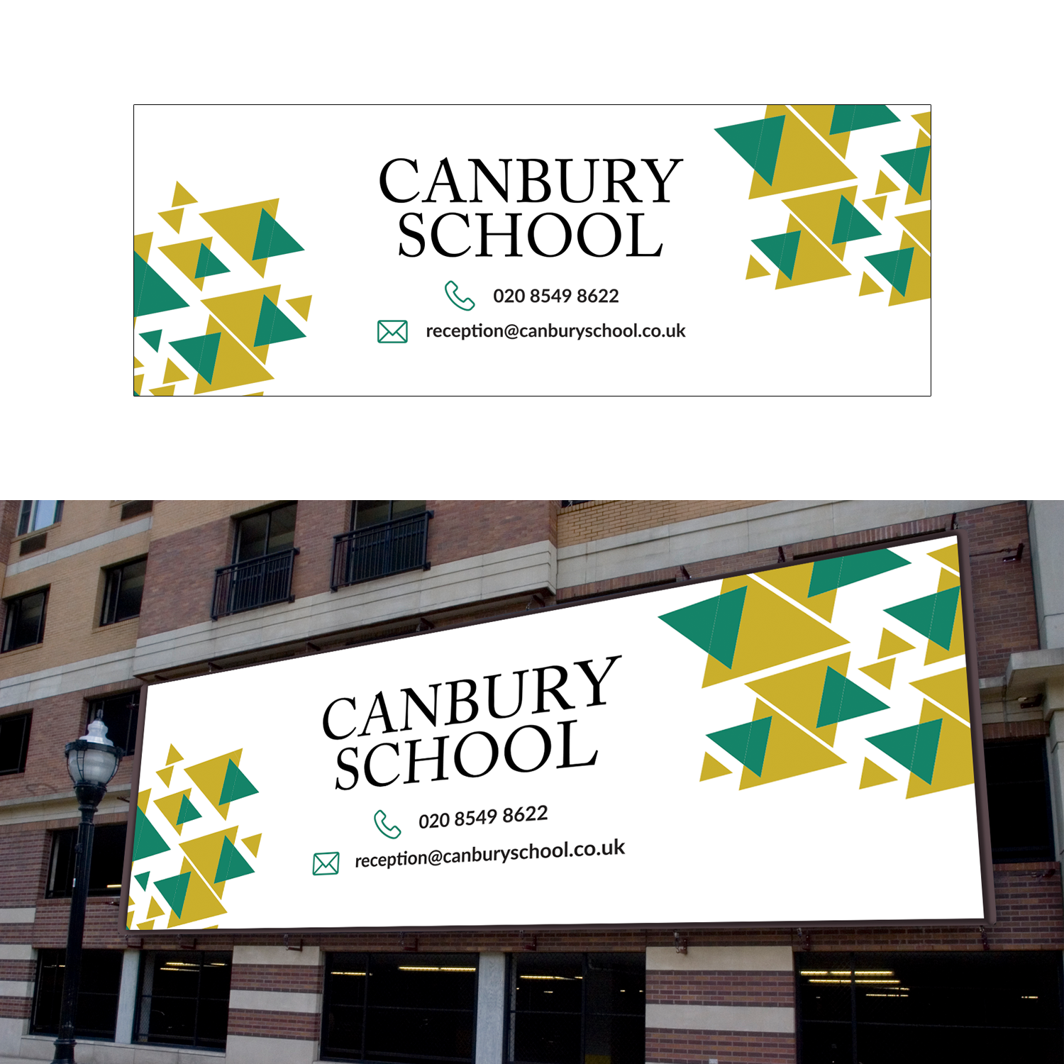 Modern Professional Education Banner Ad Design For Canbury School By Franb Design 17874404