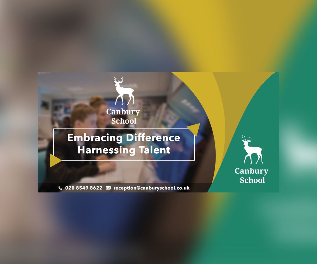Modern Professional Education Banner Ad Design For Canbury School By Tsomid Design 17901352