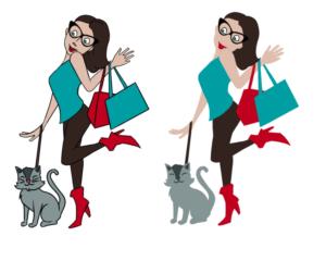 Character Design Site : Playful modern character design for shortgirl by whiscoke