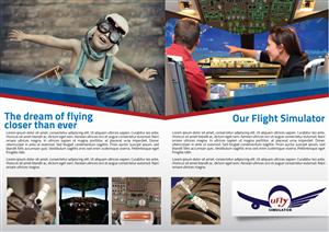 Brochure Design by JCR - Flight simulator company needs kick ass brochure