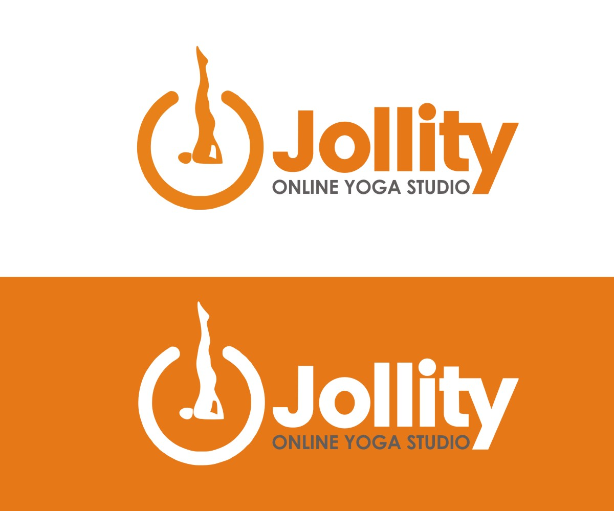 Modern Bold Fitness Logo Design For Jollity Online Yoga Studio By N83touchthesky Design 17935469