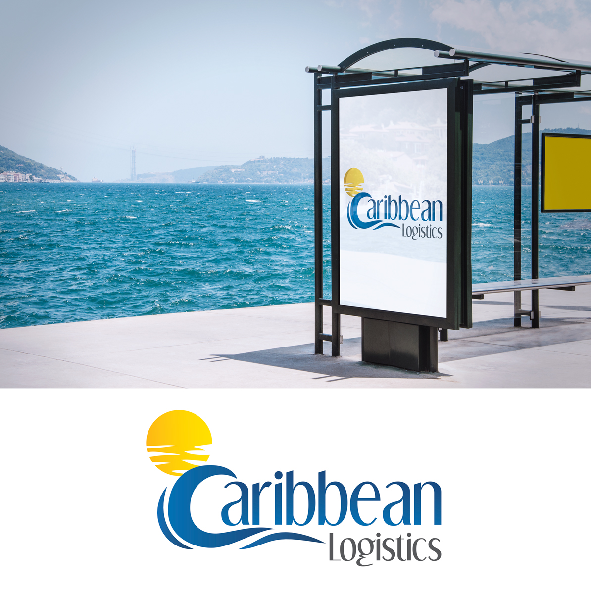 It Company Logo Design for Caribbean Logistics by Black