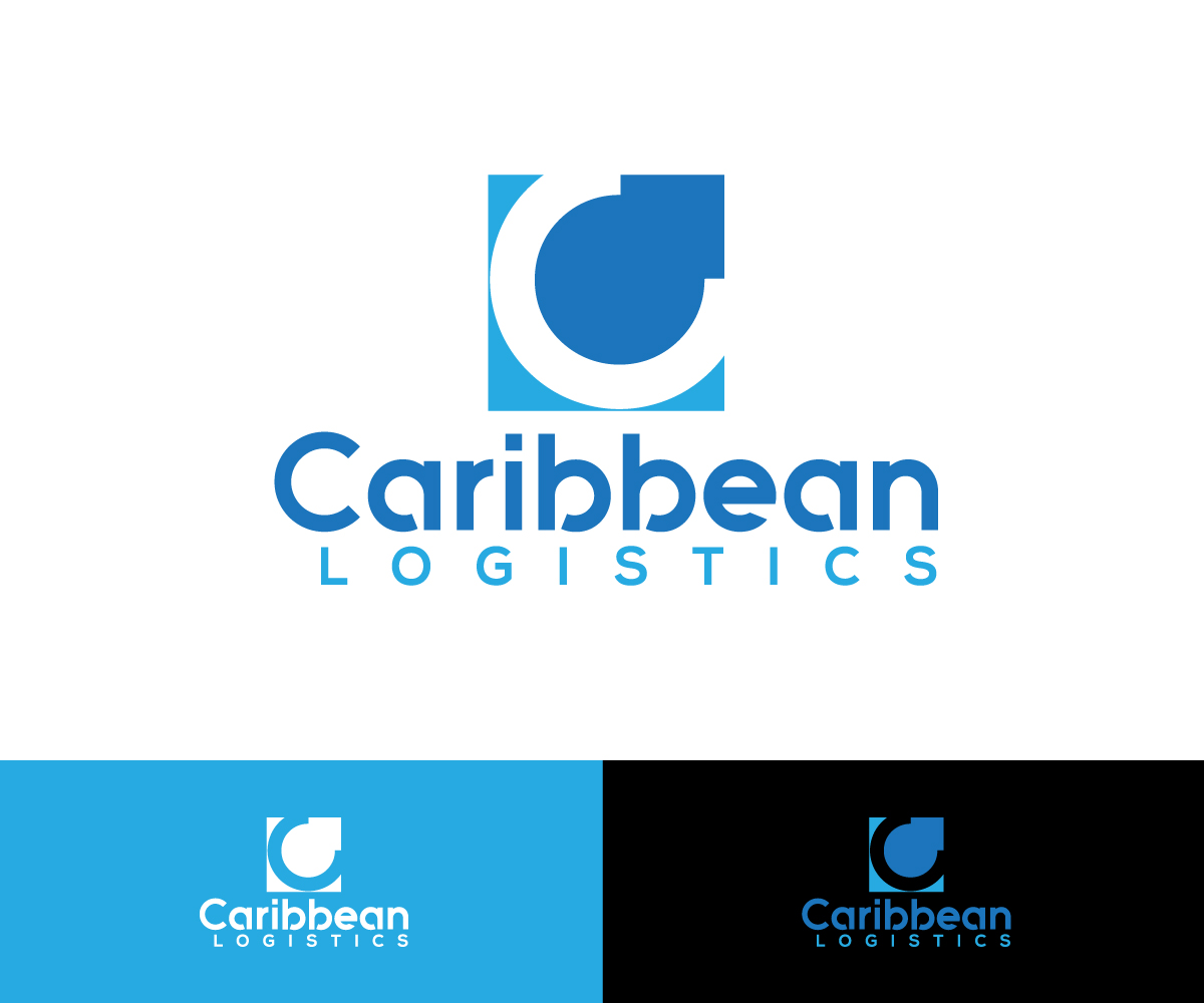 It Company Logo Design for Caribbean Logistics by