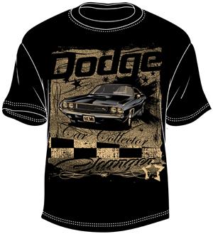 T-shirt Design by BABLEO - Vintage Dodge T-shirt Design
