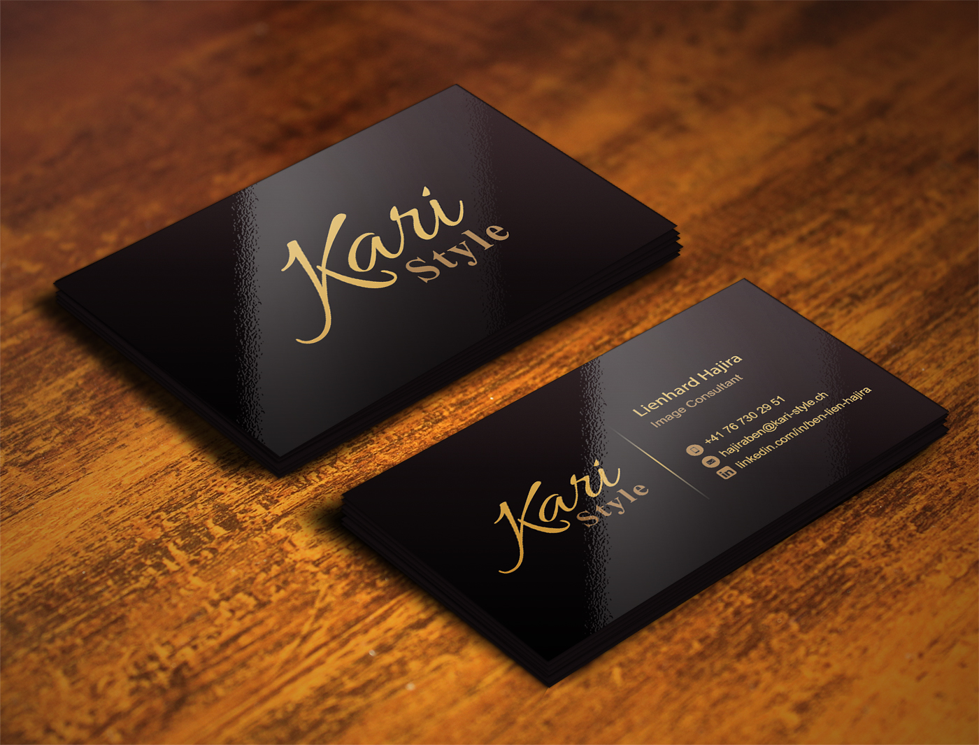 Elegant modern life coaching business card design for kari style business card design by illusionadv for this project design 17947422 reheart Image collections