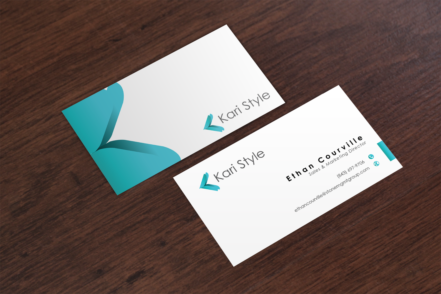 Elegant modern life coaching business card design for kari style business card design by nafizrahat for this project design 17976337 reheart Image collections