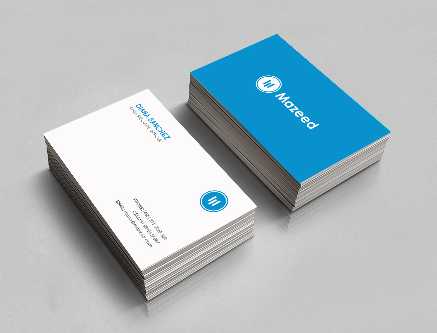Financial Business Card Design for a Company by Expert Designer ...