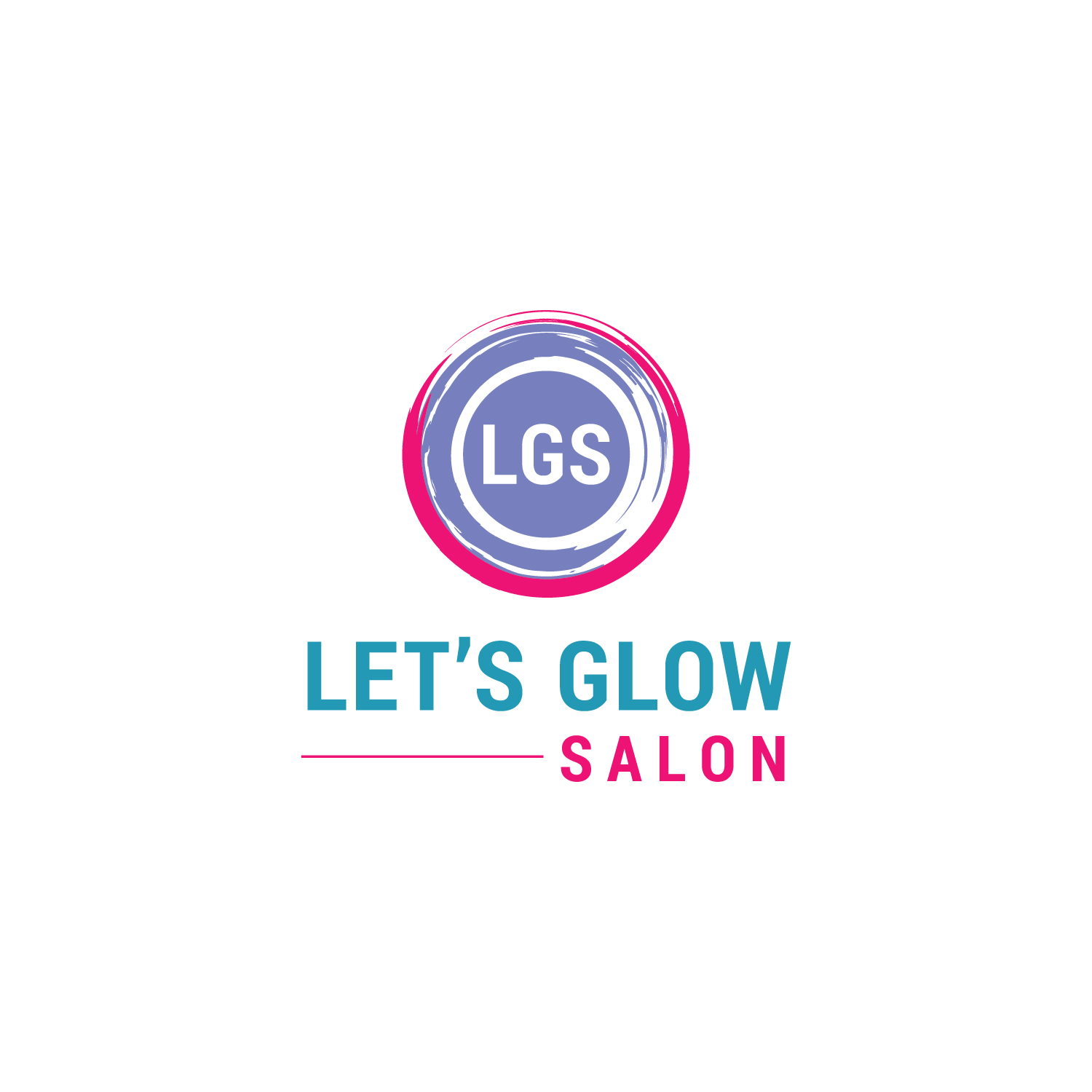 professional serious beauty salon logo design for the salon s name