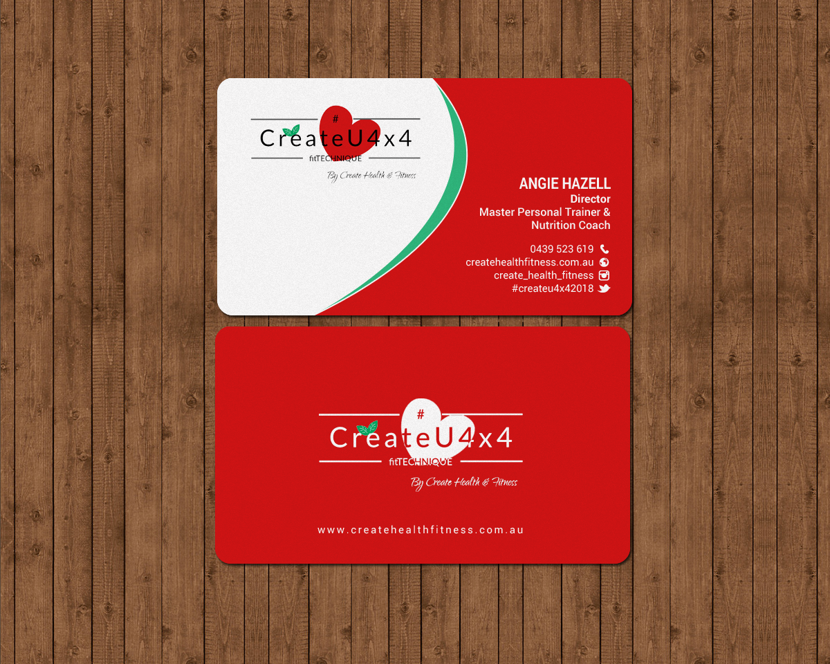 Modern upmarket health and wellness business card design for business card design by chandrayaaneative for create health fitness design 17914744 colourmoves
