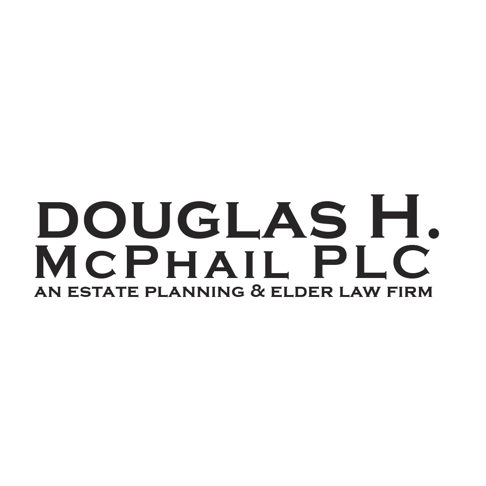 Modern, Serious, Attorney Logo Design for Douglas H  McPhail, PLC an