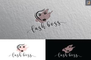 Elegant, Playful, Business Logo Design for Lash Boss by Jay Design