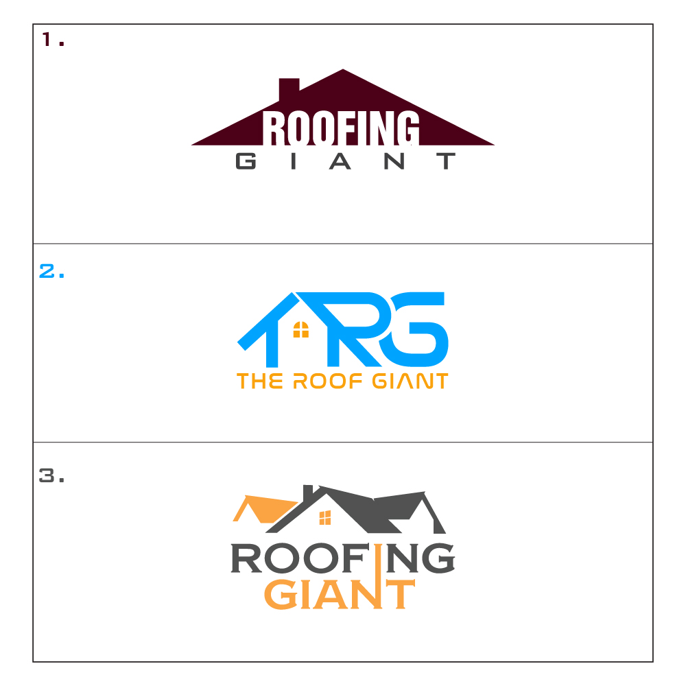 Modern Professional Roofing Logo Design For The Roof Giant By Creative Sovan Design 17975597