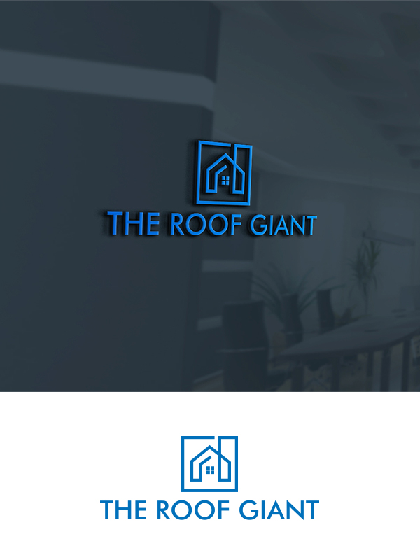 Modern Professional Roofing Logo Design For The Roof Giant By Creative Girl 2 Design 18053247