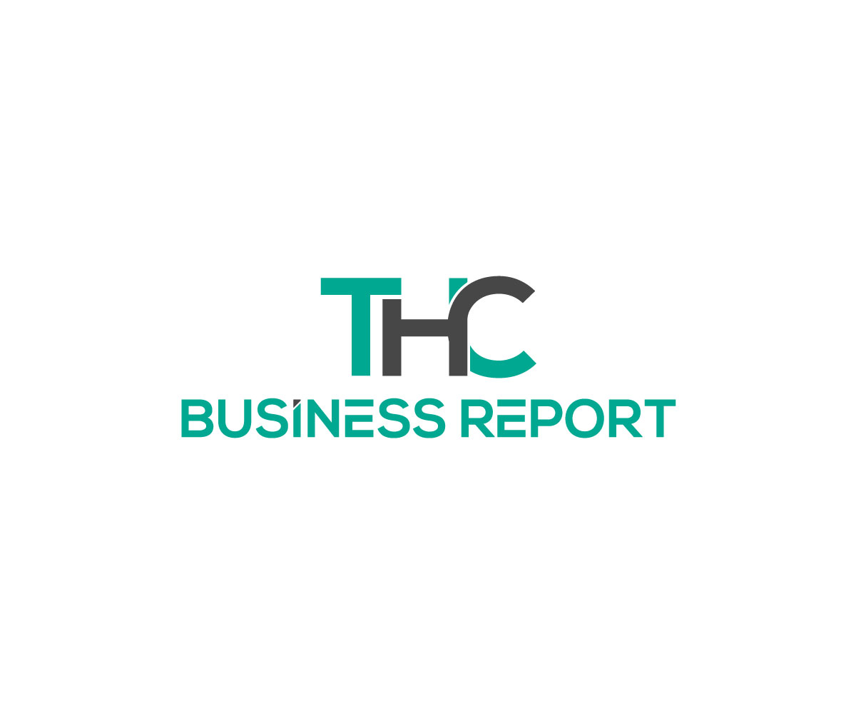 serious professional business logo design for thcbusinessreport