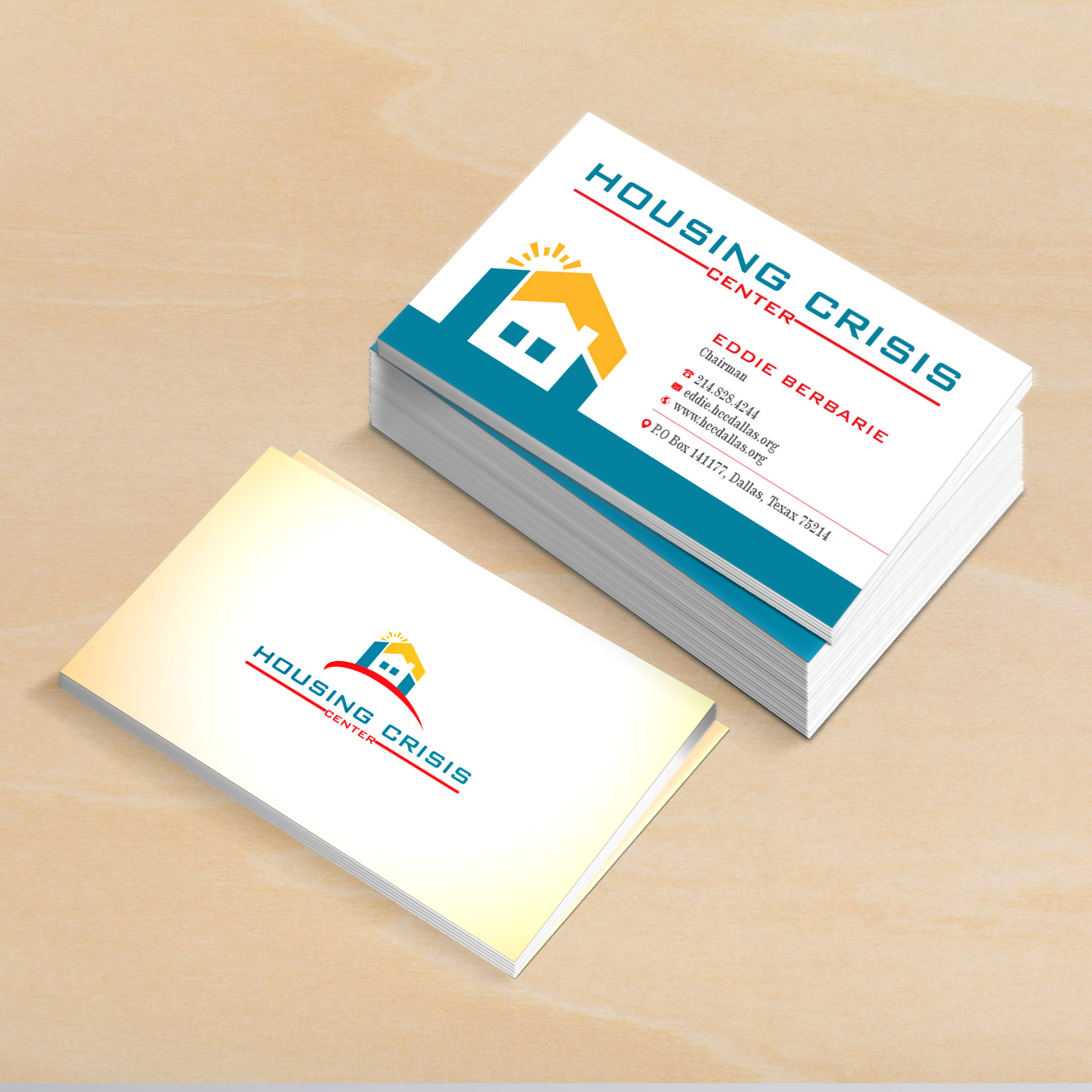 Colorful serious non profit business card design for housing business card design by creative jiniya for housing crisis center design 17940077 colourmoves