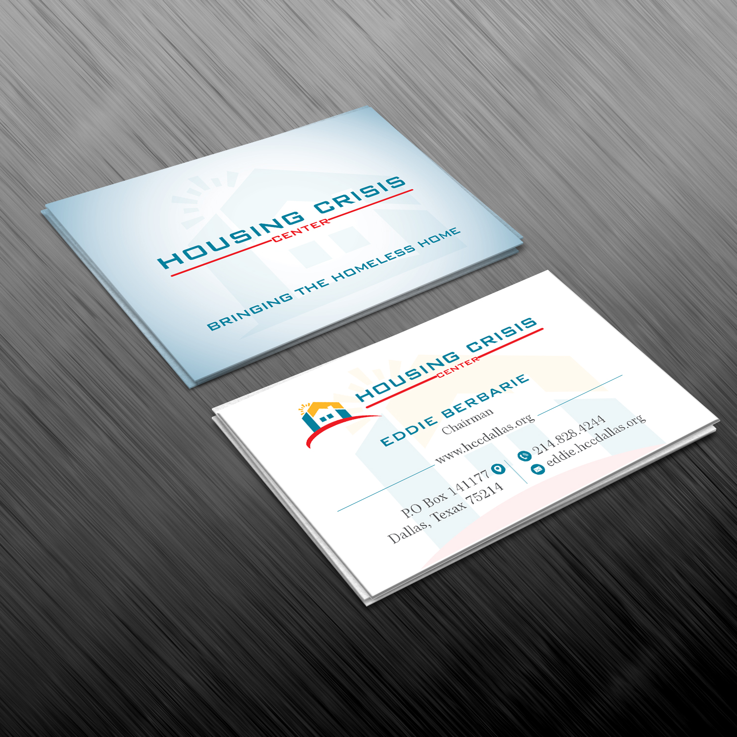 Colorful serious non profit business card design for housing business card design by creative jiniya for housing crisis center design 17976321 colourmoves