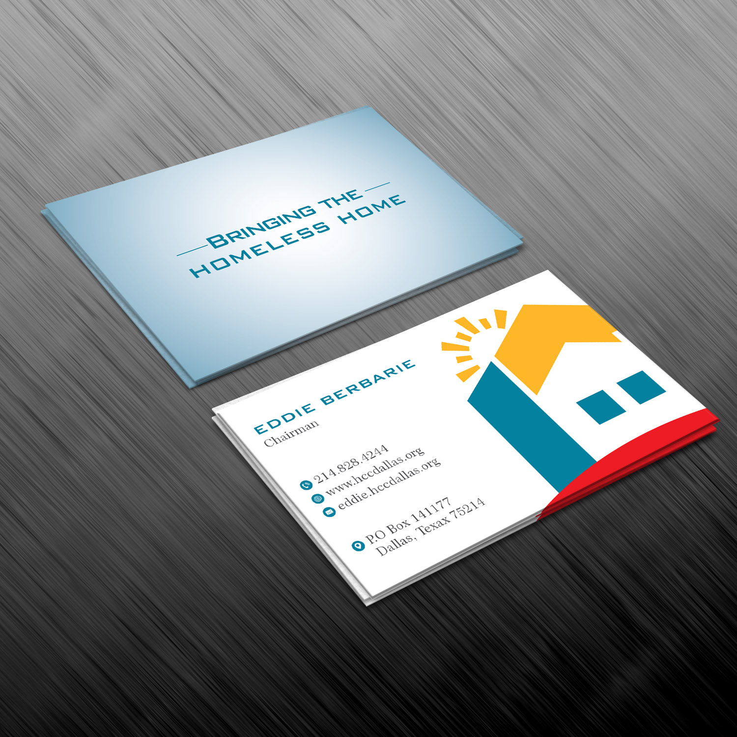 Colorful serious non profit business card design for housing business card design by creative jiniya for housing crisis center design 17986164 colourmoves