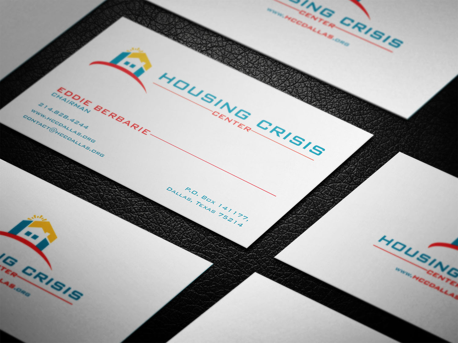 Colorful serious non profit business card design for housing business card design by virtual designs for housing crisis center design 17948098 colourmoves