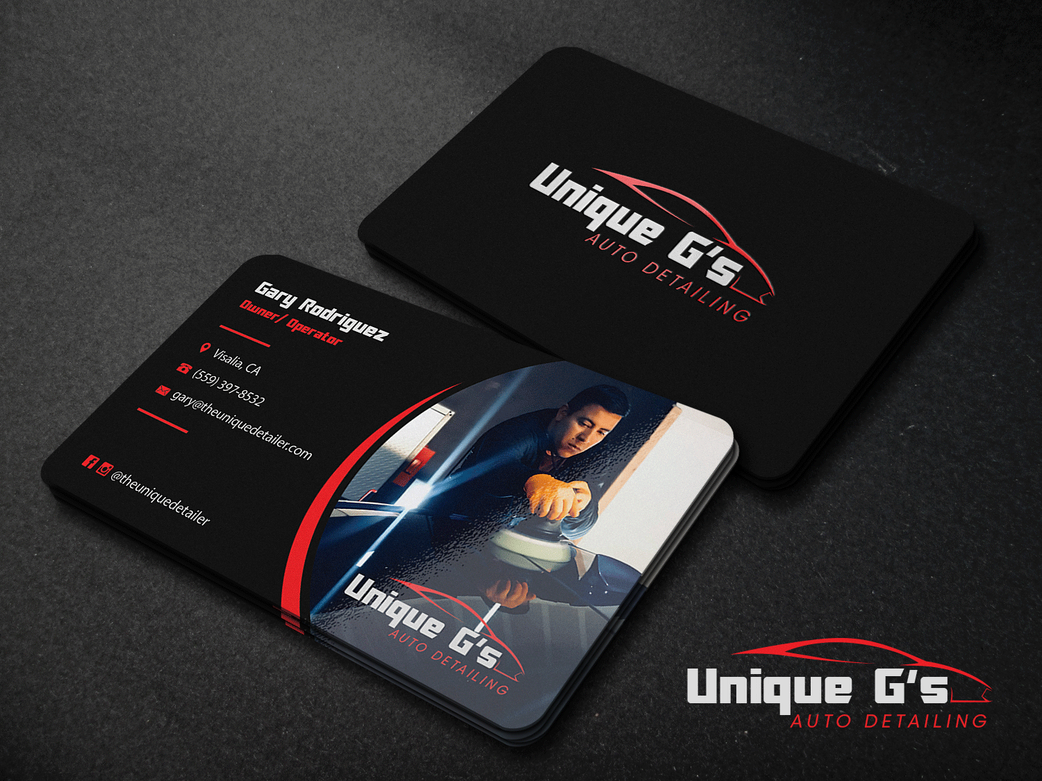Modern professional automotive business card design for a company business card design by riz for this project design 17994554 reheart Choice Image