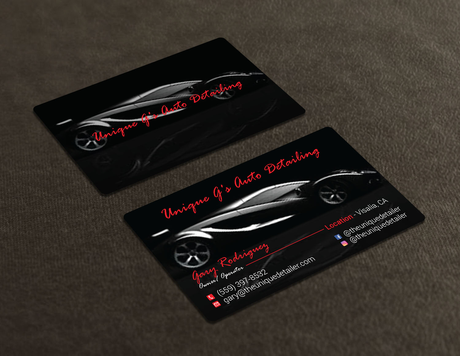 Modern professional automotive business card design for a company business card design by avanger000 for this project design 18039685 reheart Choice Image