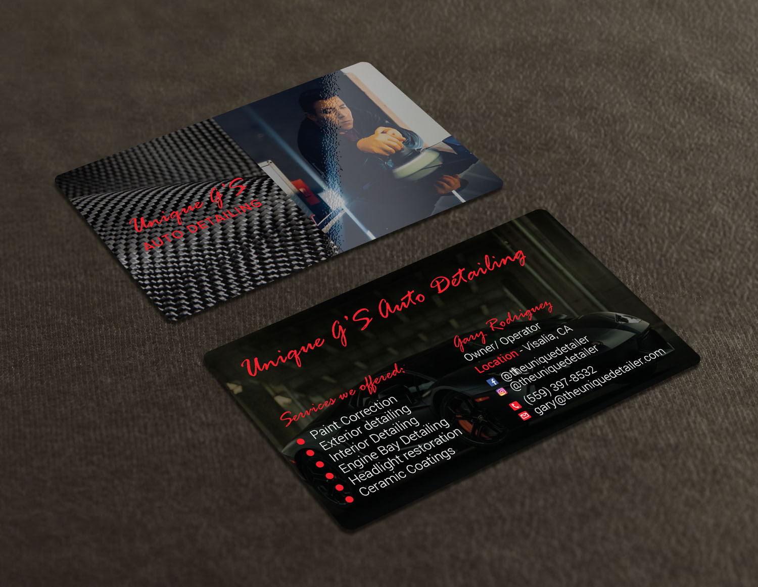 Modern professional automotive business card design for a company business card design by avanger000 for this project design 18052440 reheart Choice Image