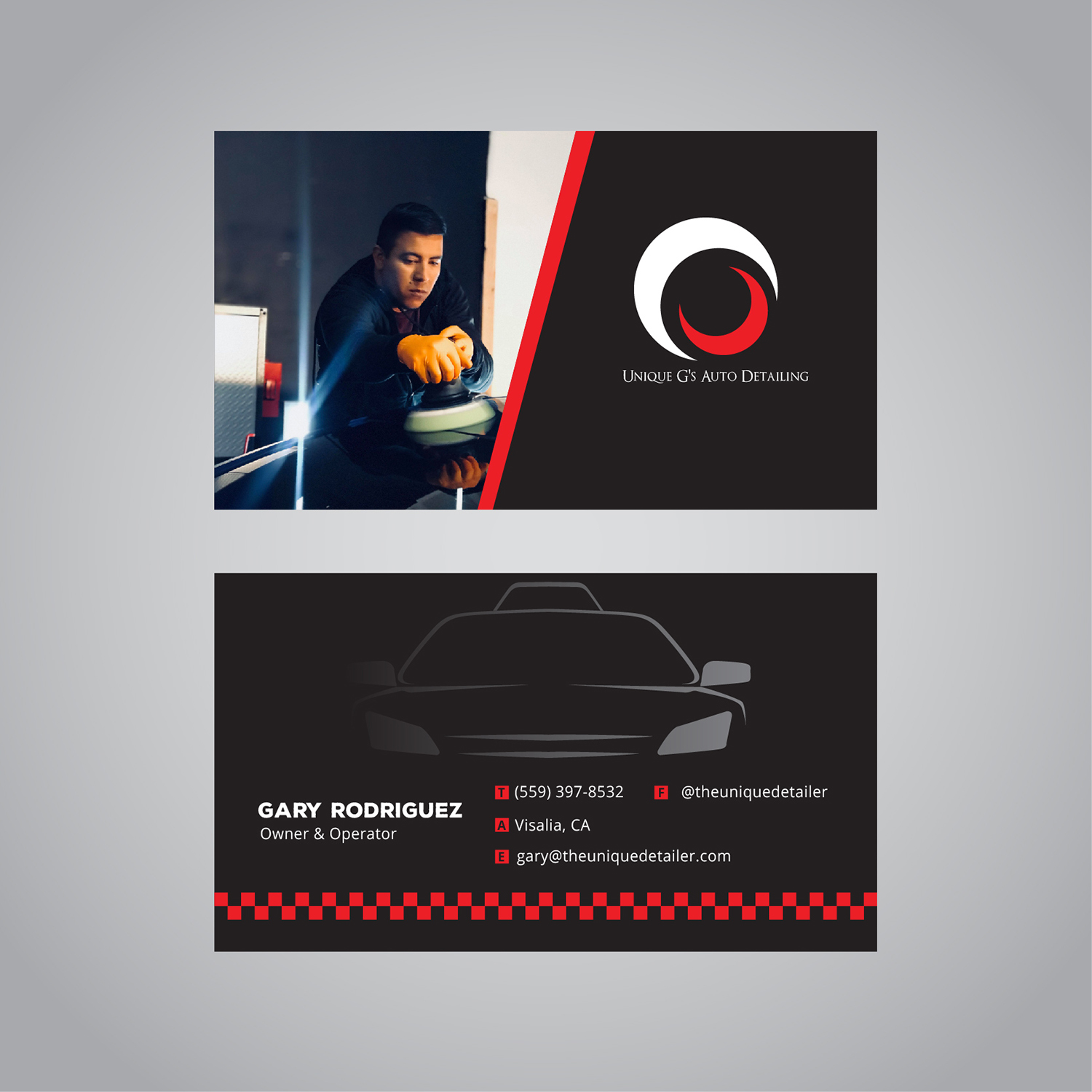 Modern professional automotive business card design for a company business card design by pixel art studio for this project design 17993928 reheart Image collections