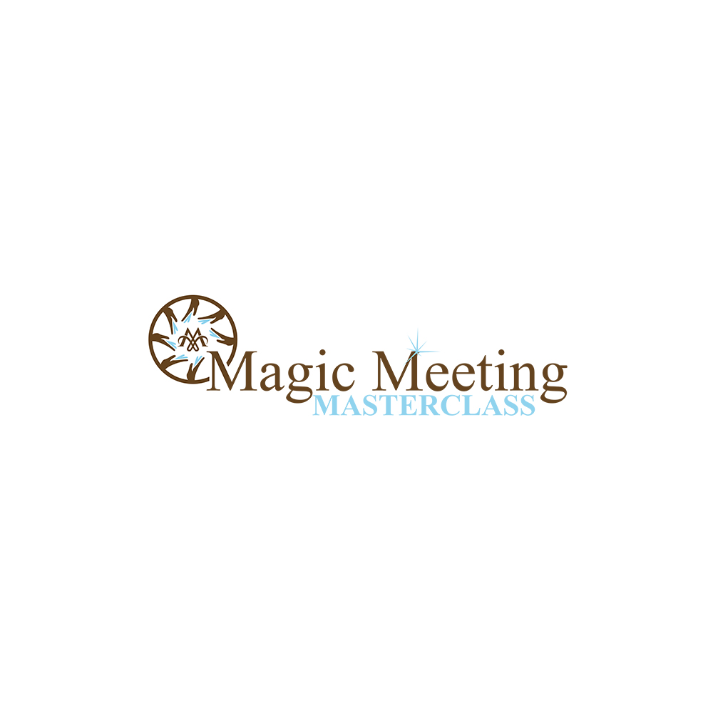 Playful, Elegant, Training Logo Design for Magic Meeting