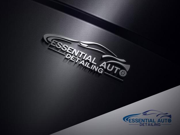 Upmarket Serious Automotive Logo Design For Essential Auto