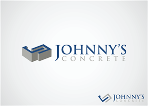 Logo Design job – JOHNNYS CONCRETE – Winning design by DownsArt