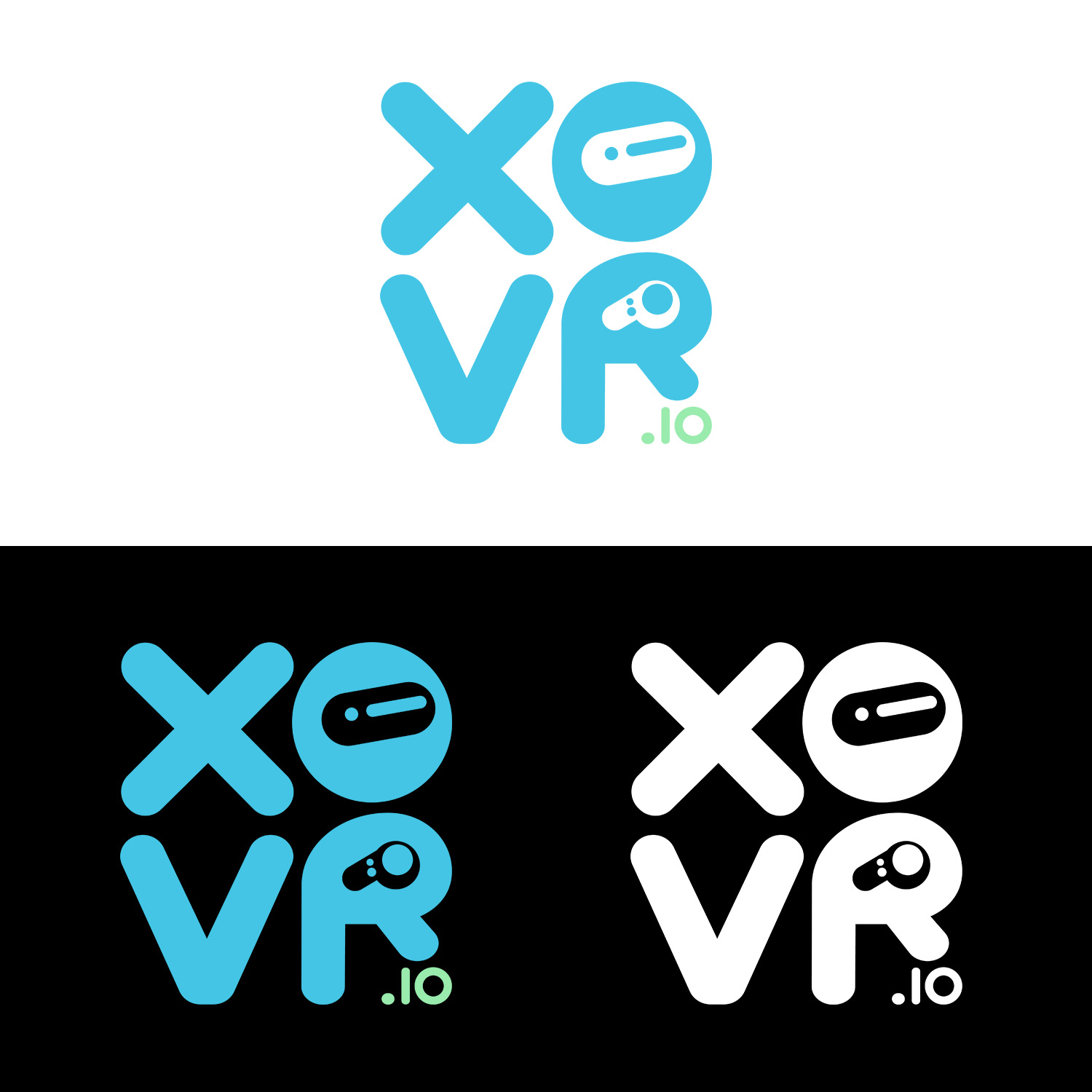 Playful, Modern, Entertainment Logo Design for XOVR io by