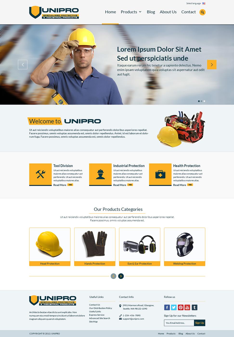 Bold Serious Industrial Web Design For Adamji Distributors Ltd By Themedesk Technology Design 2808732