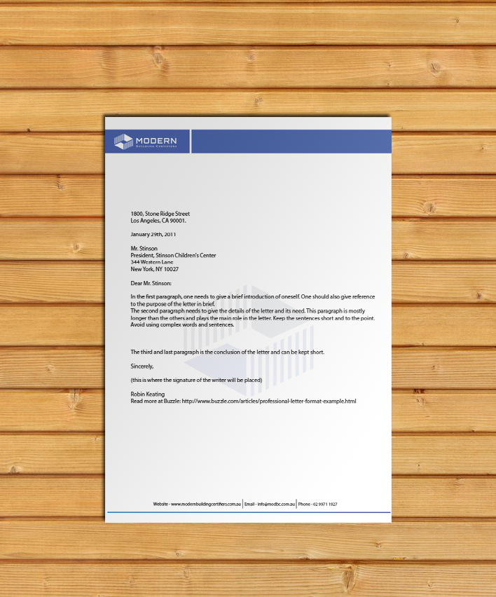 42 Company Letterhead Templates: 42 Serious Modern Industry Letterhead Designs For A