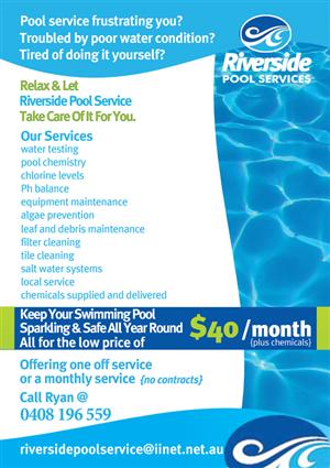 pool service business plan sample