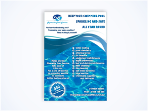 pool service flyers. Flyer Design By Amduat For This Project | Design: #645987 Pool Service Flyers