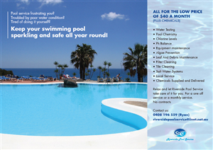 pool service flyers. Flyer Design By ReverieLab For This Project | Design: #646810 Pool Service Flyers