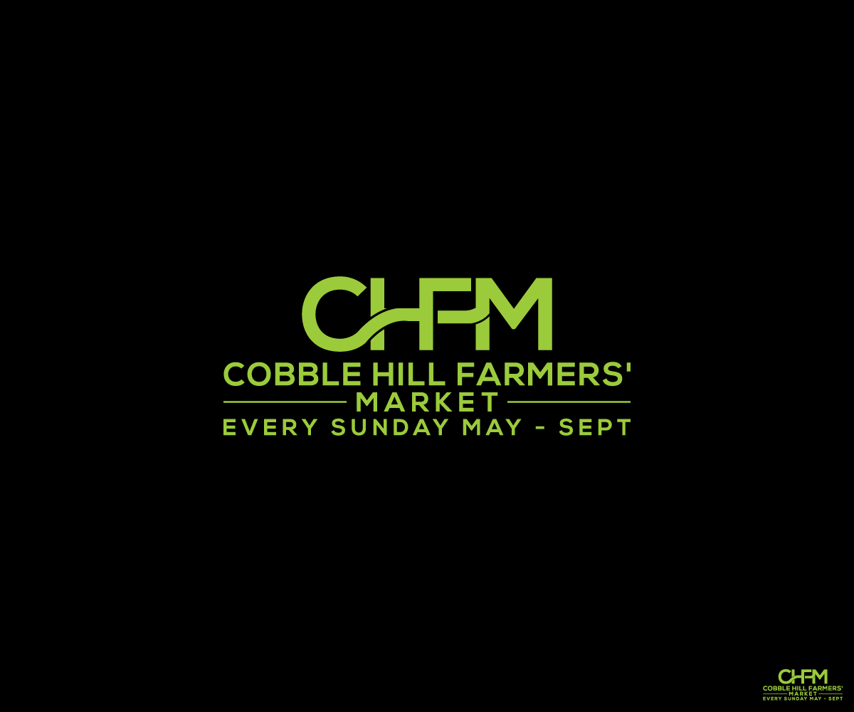 Modern Bold Building Logo Design For Cobble Hill Farmers Market