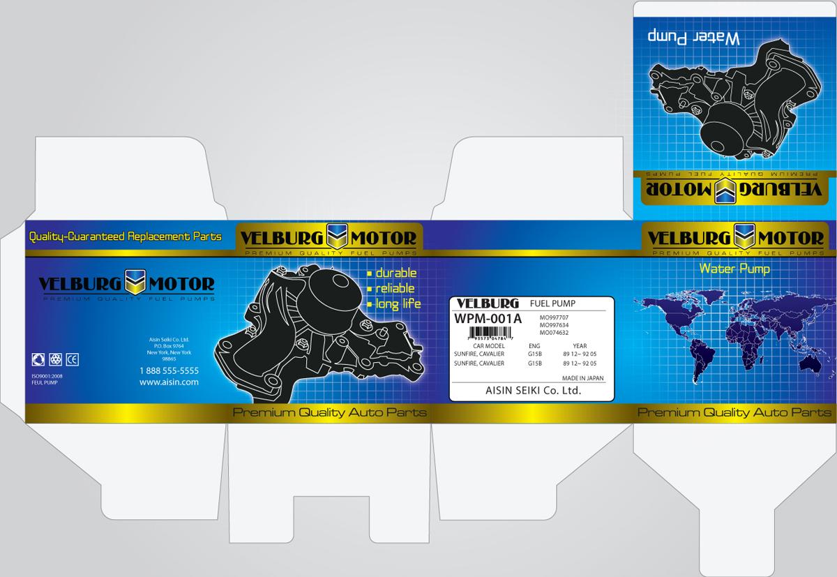 Car Parts Brochure