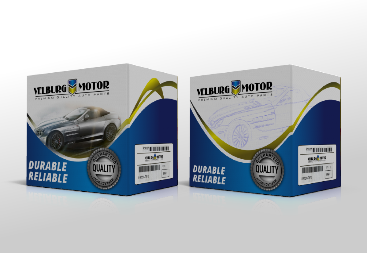 Packaging Design by Giovanni for Car Spare Parts Packaging Box ...